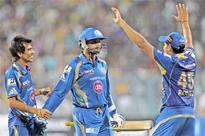 Mumbai hold nerve to beat KKR at Eden
