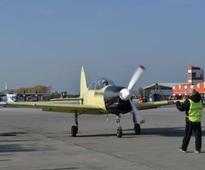 First Flight: Yak-152 Trainer