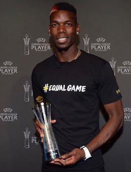 Pogba beats Ibra for UEFA Europa League award