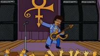 The Simpsons showrunner shares scenes from Prince episode