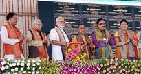 PM inaugurates 17 projects, lays foundation stone of six more in Varanasi