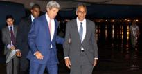 John Kerry is in India for strategic dialogue and oops! He's stuck in Delhi traffic