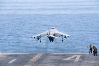 U.S. now hitting Daesh from two decks as USS Boxer joins strikes