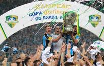 Gremio win Brazilian Cup in emotion-charged game