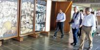 Heritage inspection ends with historic walk