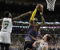NBA playoffs: James LeBron, Kevin Love help Cavaliers cruise past Celtics in game one romp