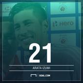 Goal 25 2015-16: Arata Izumi: Japan-born player at home in India