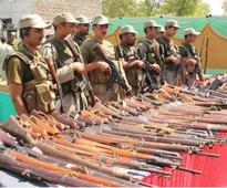 Crackdown: Scouts seize weapons in Jamrud