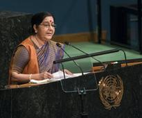 We created IITs, you created Lashkar: Sushma Swaraj rips apart Pakistan at UN