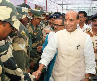 Post-Doklam, Rajnath to visit Sino-Indian border in U'khand