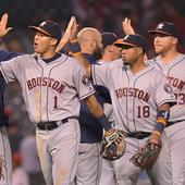 Astros Shut Down Angels' Rally In Ninth