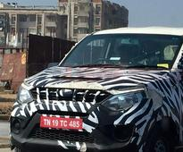 Mahindra Quanto facelift (Canto) continues testing