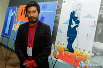 Award ceremony for UN Poster for Peace Contest held in New York