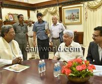 Bengaluru: Azim Premji meets Siddaramaiah