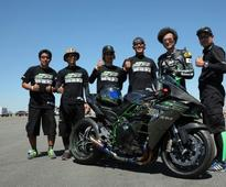 Kawasaki plans top speed record with the H2R