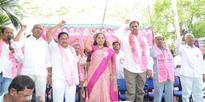 MP Kavita Participated in May Day Celebrations