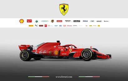 Vettel excited about upcoming season as new Ferrari unveiled