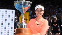 Davis shocks Konjuh to clinch first title at ASB Classic in Auckland