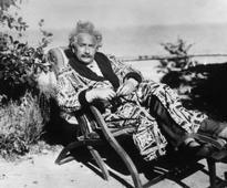 German/American physicist Albert Einstein