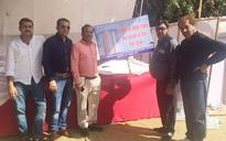 Noida: Home buyers protest against Jaypee Group for not delivering flats