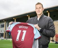 Premier League: Burnley sign New Zealand striker Chris Wood from Leeds United in club record deal