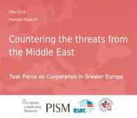 Countering the threats from the Middle East