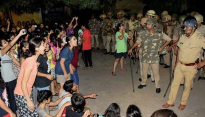 BHU violence: Officials axed; 1,000 students booked