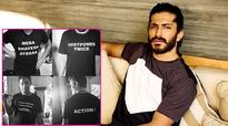 Harshvardhan Kapoor announces Bhavesh Joshi's shoot in the most quirky way possible!