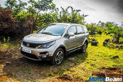 Hexa is a heavy car and is loaded with safety equipment