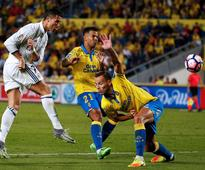 Cristiano Ronaldo substituted as Las Palmas check Real Madrid's perfect start - in pictures
