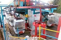 Darjeeling ropeway service stalled after cable sags