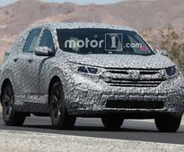 Honda Has Commenced Testing The All-New 2018 Edition CR-V
