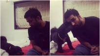 WATCH: Shraddha Kapoor's brother Siddhanth Kapoor's banter with his dog is the CUTEST thing you'll see today!