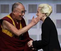 Lady Gaga reportedly banned from China after Dalai Lama meeting