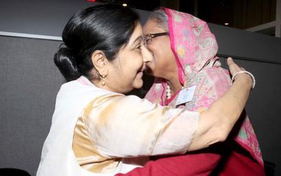 PM deputes Sushma to allay Dhaka's Rohingya concerns