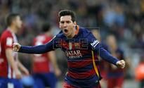 Messi returns to group training with Barca