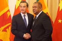 Foreign Minister Mangala Samaraweera welcomes Chinese Foreign Minister