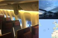 Qatar Airways jet makes emergency landing; passengers injured