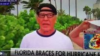 Watch: 'Hurricane genius' owns Fox reporter who asked if he was worried about Irma