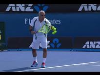 Maccas Legends: Enqvist/Norman v Bahrami/Forget highlights | Australian Open 2016
