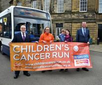 Bus Staff Volunteer their Driving Services for Children's Cancer Run