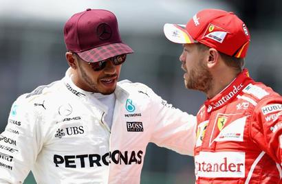 F1: Temp set to rise in Austria as Vettel and Hamilton face off