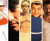 What are your top five films of Aamir Khan?