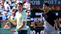Indian Wells: Milos Raonic moves past Sam Querrey, Juan Martin Del Potro beats Philipp Kohlschreiber for semis spot