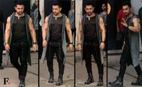 Aamir Khan spotted at Mehboob Studio shooting for Dangal