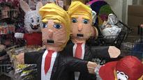 Donald Trump piatas deliver smashing sales