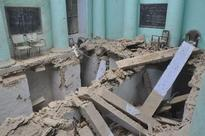 Classroom floor of private school caves in, 14 students injured