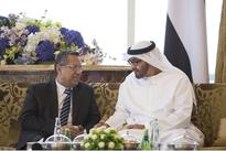 Mohamed Bin Zayed receives Yemen's PM