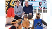 William and Kate send first joint tweet on Canada tour