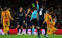 Champions League QF 'live' score: Second-half... Barcelona 0 Atletico 1... Messi misses and Neymar hits post